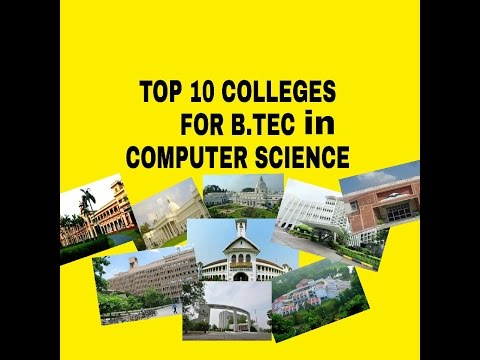 TOP 10 2017 colleges for computer science in India  Hindi 