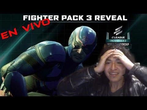 Fighter Pack 3 (Reacción EN VIVO)