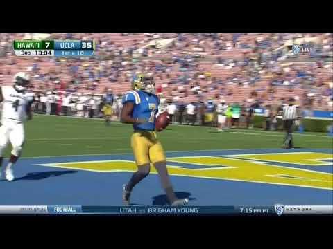UCLA Football Highlights vs. Hawaii, 2017