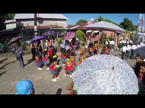 Autonomy Day Parade in Pearl Lagoon with Carnival Dancers. KO News on Location