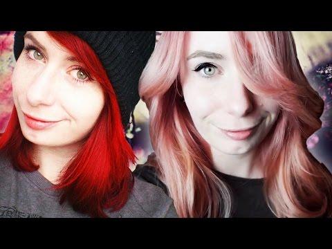 Von Rot auf Pastel-Rosa ♥