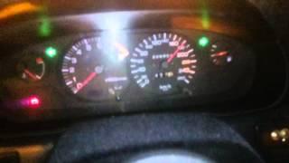 Holowanie M3jeczką 180 km/h na autostradzie :)