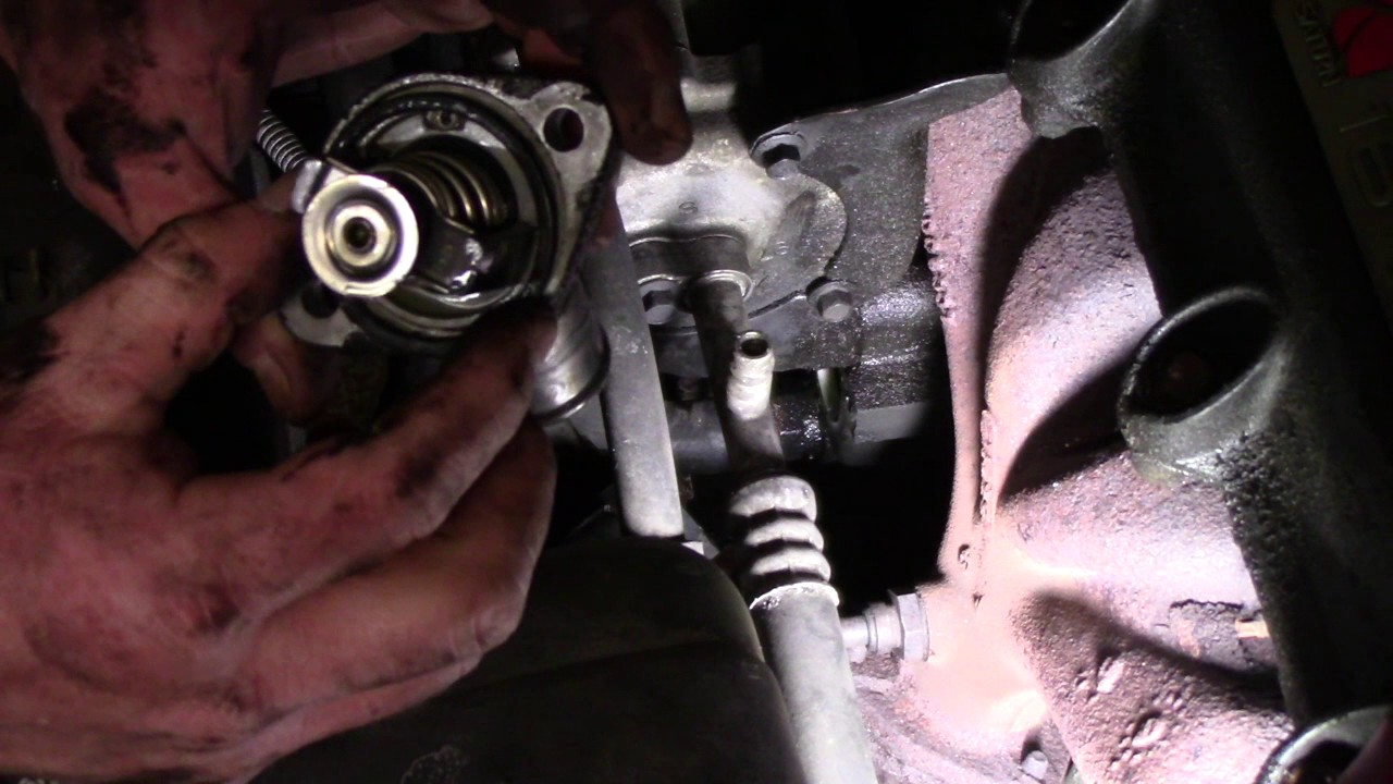 Replacing the thermostat on a 1998 Saturn SL2