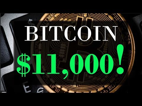 BITCOIN $11,000 ??? | Solid Investment or BUBBLE?