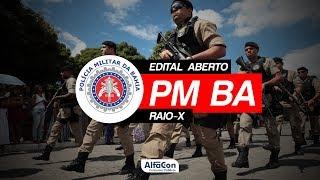 Análise de Edital aberto - Polícia Militar da Bahia - AO VIVO - AlfaCon