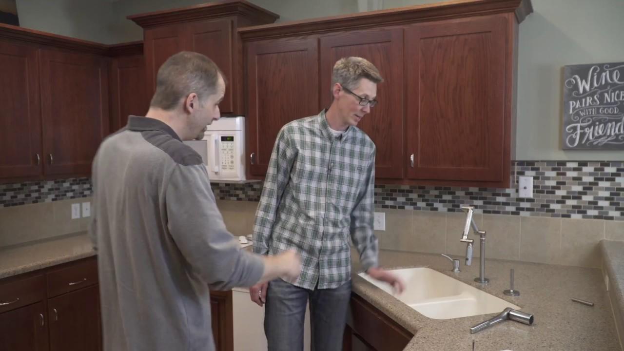diynot 1705 kohler karbon faucet repair youtube rh youtube com  kohler karbon articulating kitchen faucet