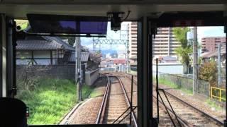 京阪京津線山科~浜大津間前面展望