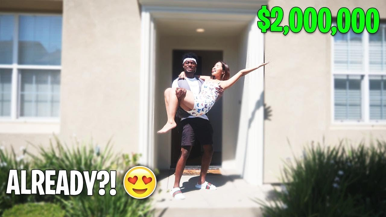 SHE'S ALREADY MOVING IN WITH ME!?! NEW GIRLFRIEND? Move-In Day 1