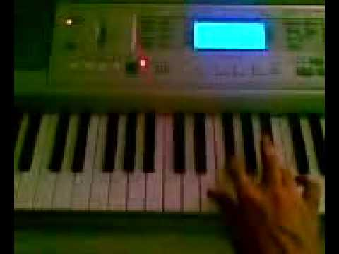 96 Tears Riff on keyboard