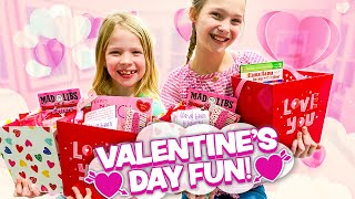 Making VALENTINE&#39S DAY Baskets to HUG Our Neighbors!