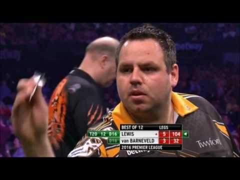 2016 Premier League of Darts All The High Finishes
