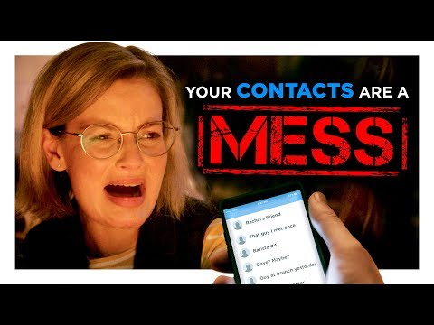 Your Contacts List is a Mess