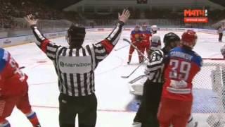 Россия - Норвегия 2:1 ОТ Обзор матча 08.04.2016 | Хоккей - Еврочеллендж 2016