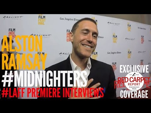 Alston Ramsay ed at Premiere of Midnighters at Los Angeles Film Festival