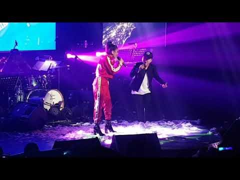 Ylona Garcia and Jake Zyrus duet at YLONA Arrival concert