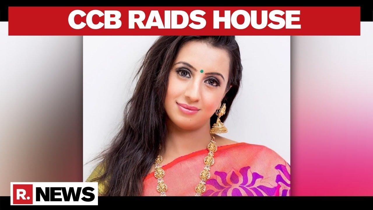 Sandalwood drug racket: Actor Sanjjanaa Galrani's house raided - Republic World