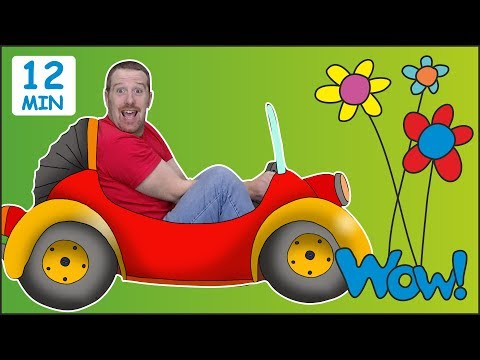 Surprise Eggs Toys for Kids + MORE from Steve and Maggie | Learn Wow English TV | English Words