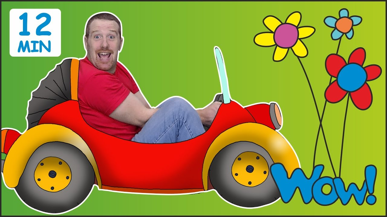 2ddaab85 Surprise Eggs Toys for Kids + MORE from Steve and Maggie | Learn Wow  English TV | English Words