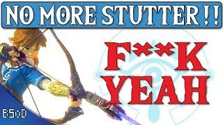 Cemu 1.11.4   Completely Removing Stutter   Zelda BOTW