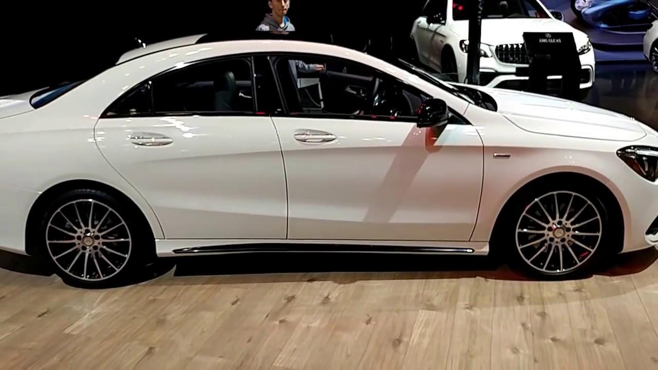 2018 mercedes benz cla 250 coupe. exellent 250 2018 mercedes benz cla 250 4 matic  new york international auto show and mercedes benz cla coupe e