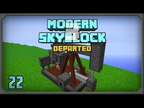 Modern Skyblock 3 Departed EP22 Immersive Petroleum