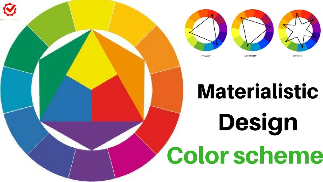 How To Create Color Schemes For Android Iphone App Website Materialistic Design Ui Generator