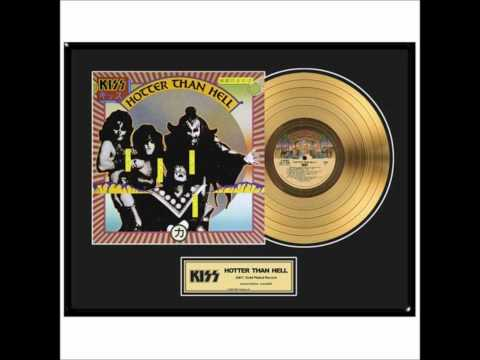 KISS - Entire 'Hotter Than Hell' Album - Vinyl Cut!!!