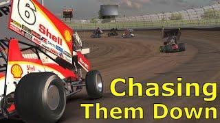 Chasing Them Down | iRacing Dirt Gameplay