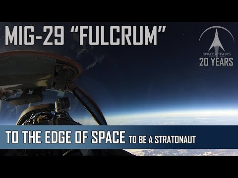 From the Pilots Seat MIG-29 - To be a Stratonaut