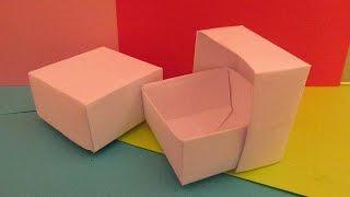 КОРОБОЧКА ИЗ БУМАГИ - Легкое Оригами для Начинающих(ПОДАРОК моим зрителям ЗДЕСЬ: https://clck.ru/9ShzR КОРОБОЧКА ИЗ БУМАГИ - Легкое Оригами для Начинающих ТЕГИ; Оригами,..., 2015-01-14T13:49:03.000Z)