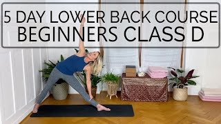 Yoga for Lower Back Pain 🕊 Class D. Beginners. 34 min. CdR #OYT #beginnersyoga #yoga #lowerback