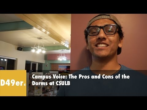 Campus Voice: What are the pros and cons of Cal State Long Beach dorms?