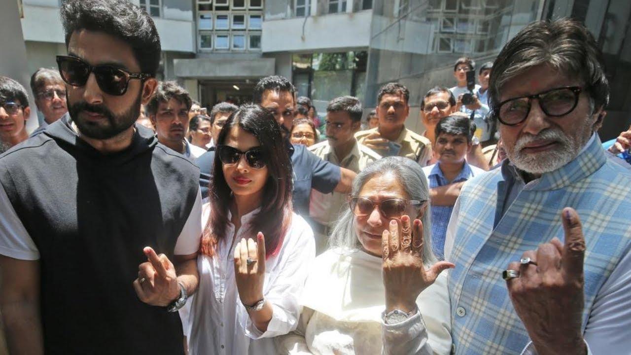 Amitabh Bachchan, Jaya Bachchan, Aishwarya Rai Bachchan ...