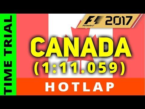 F1 2017 - Canada Hotlap (1:11.059)