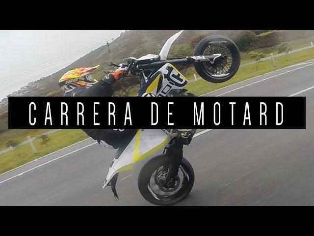 CARRERA DE MOTARD | HUSQVARNA 701 - MT09 - CBR 600rr