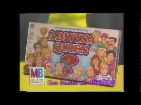 Comercial Adivina Quién, 90´s