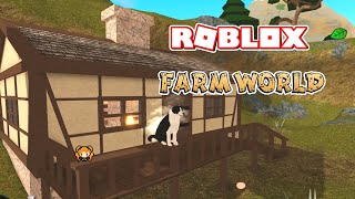 ROBLOX FARM WORLD Kitsune Mounting Climbing, SUPER FLUFFY Guinea PIG + the WEASEL IS CRYING!