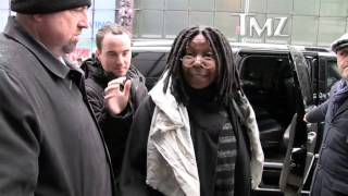 Whoopi Goldberg to Sharon Osbourne    Your Insults Don't Bother Me!!