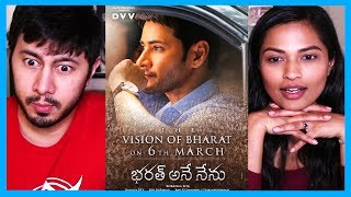 THE VISION OF BHARAT | Mahesh Babu | Bharat Ane Nenu | Teaser Reaction!