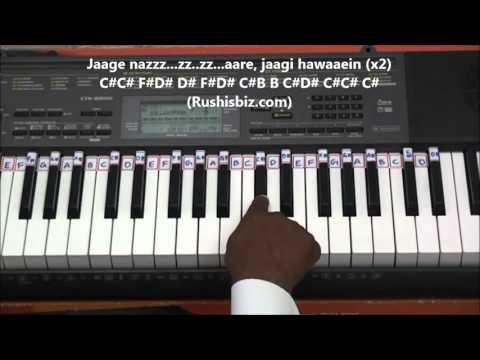 Saagar Kinare (Classical Piano Notes) - Tutorials | 7013658813 - PDF NOTES/BOOK - WHATS APP US