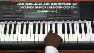 Saagar Kinare (Classical Piano Notes) - Tutorials