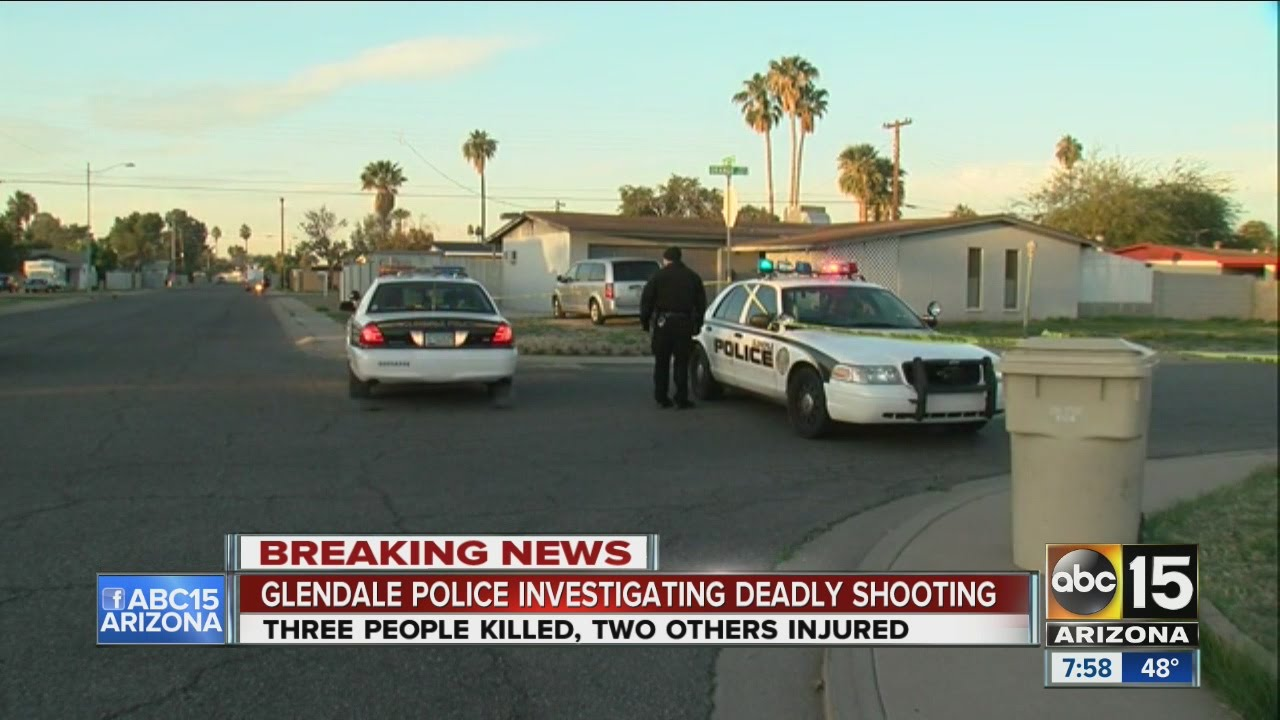 Three dead, two hurt at Glendale house party shooting