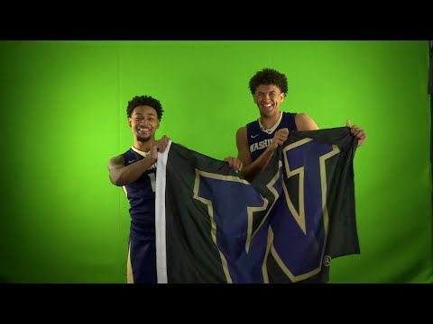 2017 Pac-12 Men's Basketball Media Day: It's all fun and games for the Washington Huskies