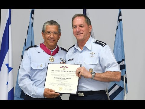 Chief of Staff of the U.S. Air Force, General Goldfein Attends Israeli Air Force Change of Command