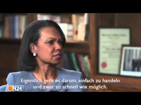 Condoleezza Rice: Europa für Amerika begeistern und weg von Russland