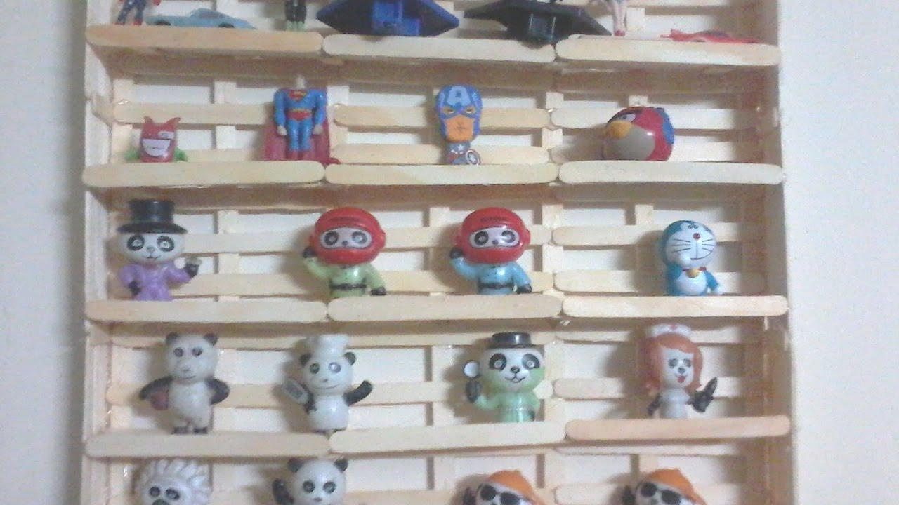 Diy How To Make Toy Shelf Wall Hanging Shelf For Toys Using