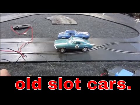 Garage sale slot cars, will they still work?