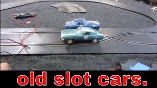 Garage sale slot cars, will they still work?