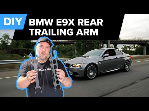 BMW E90, E82, & E84 Rear Trailing Arm Replacement/Revshift Upgrade DIY (M3, 328i, 135i, X1, & More)