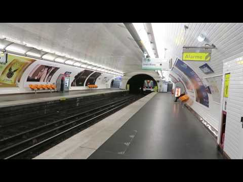 Paris Metro Extravaganza: All 16 Lines! 8 November 2016